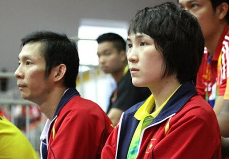 Female badminton player up in rankings hinh anh 1
