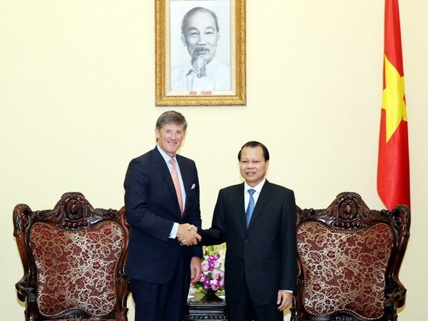 Deputy PM hails Citigroup's business expansion in Vietnam hinh anh 1