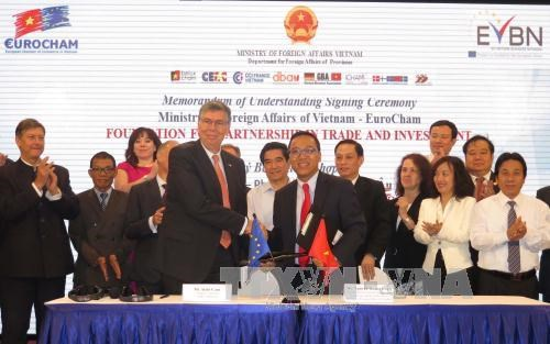 Vietnam-EU agreements lay foundation for all-around partnership hinh anh 1