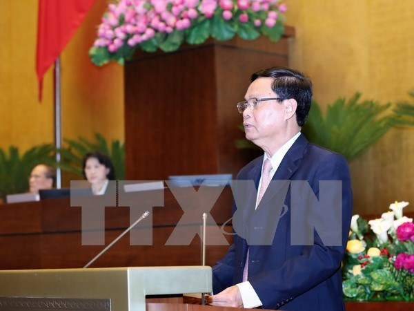 National Assembly debates crime, corruption fight hinh anh 1