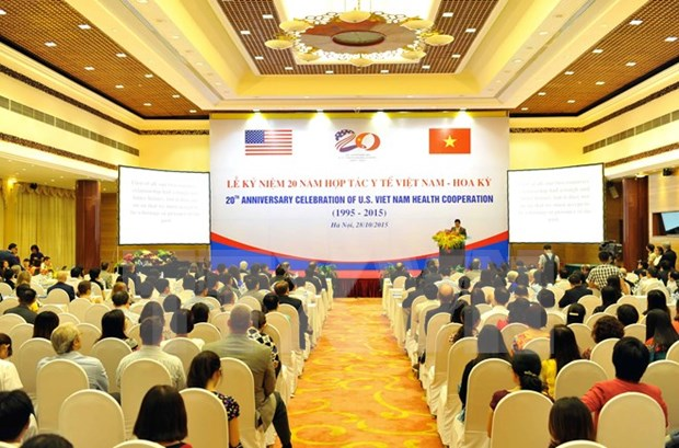 Celebration spotlights Vietnam-US health links hinh anh 1
