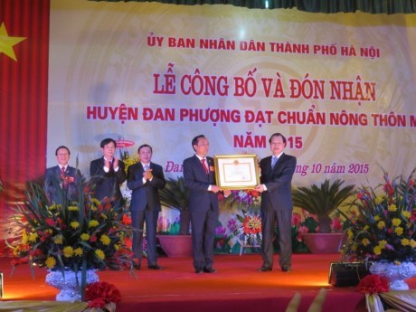 Hanoi recognises first new rural district hinh anh 1
