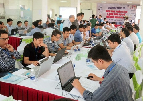 Vietnam joins international information safety drills hinh anh 1