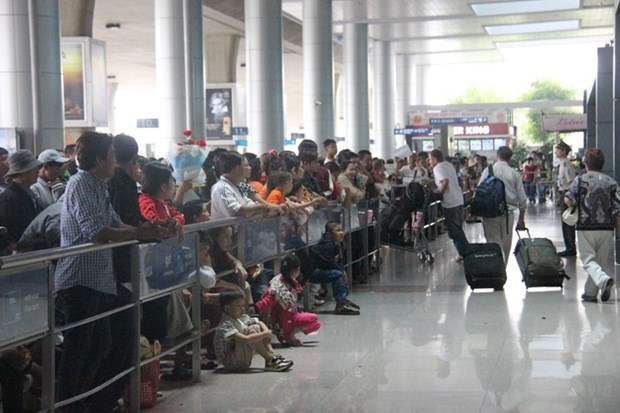 HCM City airport to improve service hinh anh 1