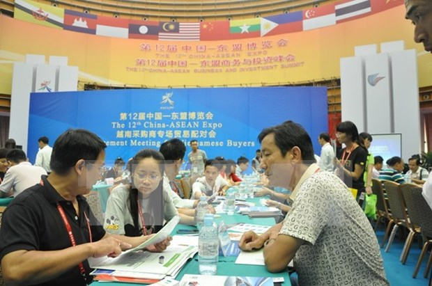 Vietnam-China trade fair opens in Ha Giang hinh anh 1