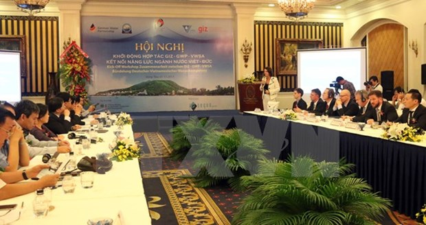 Vietnam, Germany co-operate in water sector hinh anh 1