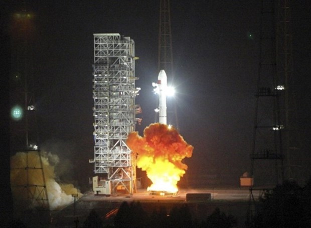 First Lao satellite to go into orbit this month hinh anh 1