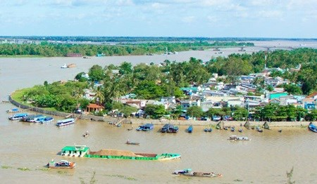 Can Tho city floats water transport safety project hinh anh 1
