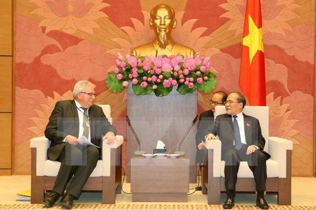 National Assembly vows to cement ties with European Parliament hinh anh 1