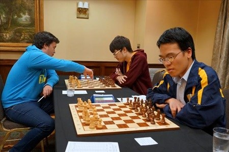 Liem climbs in world chess rankings hinh anh 1