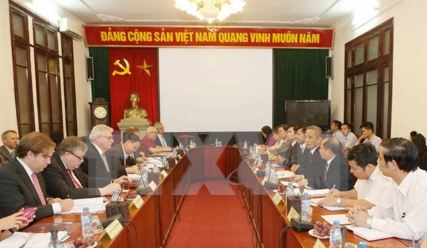 Vietnam, European Parliament boost labour cooperation hinh anh 1