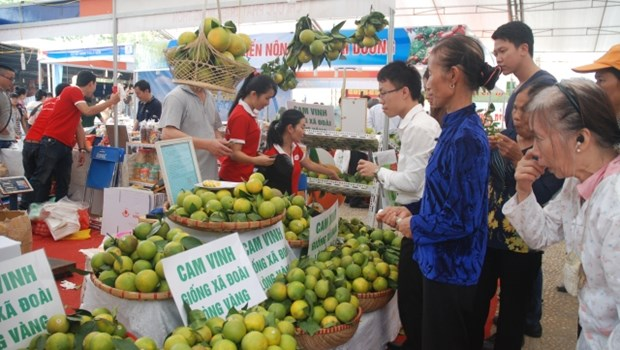 International agricultural trade fair opens in Hanoi hinh anh 1