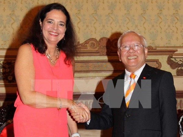 Belgium furthers support for Vietnam, HCM City hinh anh 1