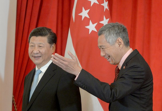 Singapore, China vow to promote bilateral ties hinh anh 1