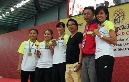 Vietnam win bronze medal at Petanque Championship hinh anh 1