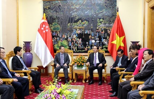 Vietnam, Singapore cement ties in crime fight, security hinh anh 1