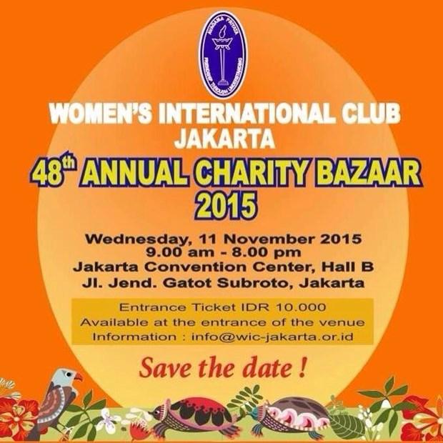 Jakarta bazaar raises money for charity hinh anh 1