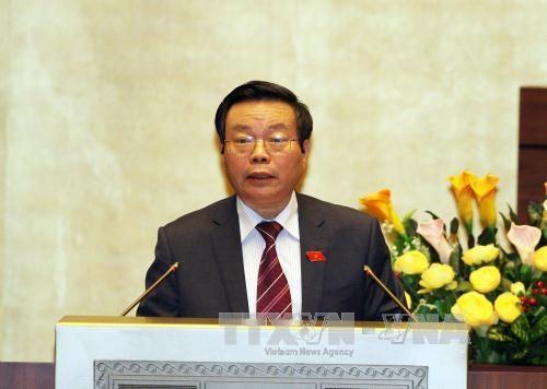 National Assembly deputies debates several bills at plenary session hinh anh 1