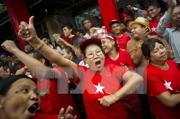 Myanmar announces 179 more parliamentarians-elect hinh anh 1