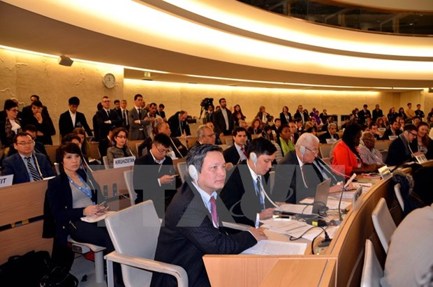 Int'l conference promotes human right education in Vietnam hinh anh 1