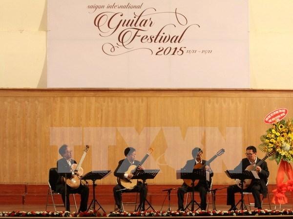 Sai Gon Guitar festival opens hinh anh 1