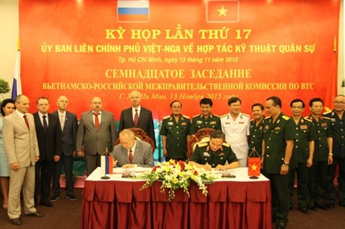 Committee meets to forge Vietnam-Russia military technical ties hinh anh 1
