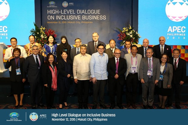 APEC high level dialogue on inclusive business opens in Philippines hinh anh 1