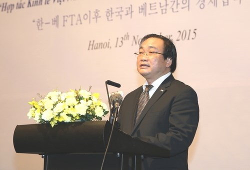 Vietnam, RoK hold first economic forum hinh anh 1