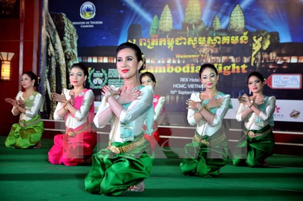 Cambodian cultural arts performance held in Soc Trang hinh anh 1