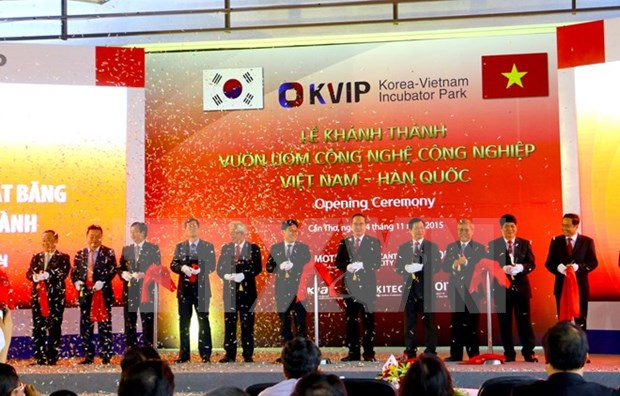 Vietnam-RoK industrial technology incubator inaugurated hinh anh 1