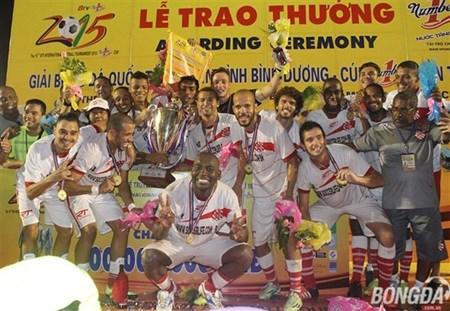 Brazilian team win Binh Duong TV Cup hinh anh 1