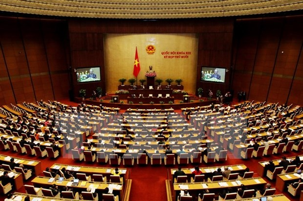 National Assembly begins unprecedented Q&A sessions hinh anh 1