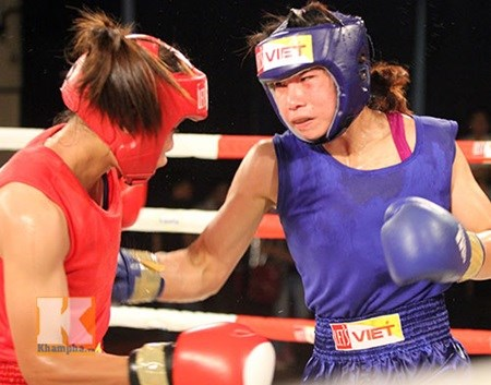 Vietnam wins gold at international boxing tournament hinh anh 1