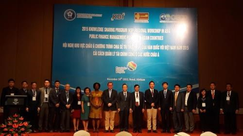 RoK shares pubic finance experience with Asian countries hinh anh 1
