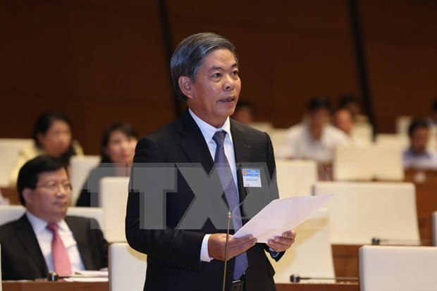 Prime Minister, ministers take floor at National Assembly session hinh anh 1