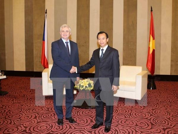 Czech Senate President visits Da Nang city hinh anh 1