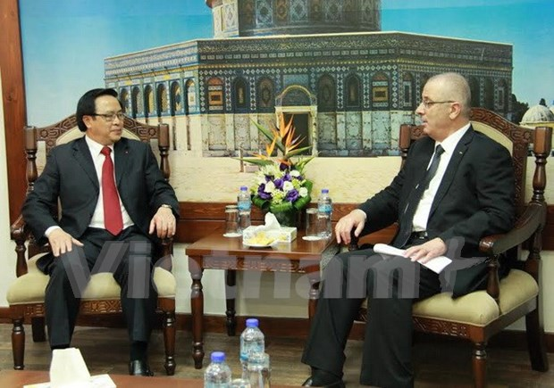 Party delegation visits Middle East hinh anh 1