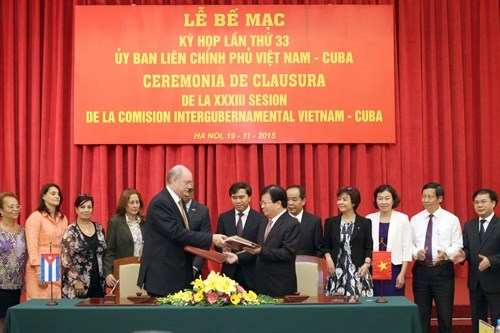 MoU signed to bolster Vietnam-Cuba multifaceted ties hinh anh 1