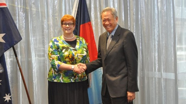 Singapore, Australia bolster defence cooperation hinh anh 1