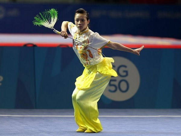Vietnam wins two more silvers at global Wushu champs hinh anh 1