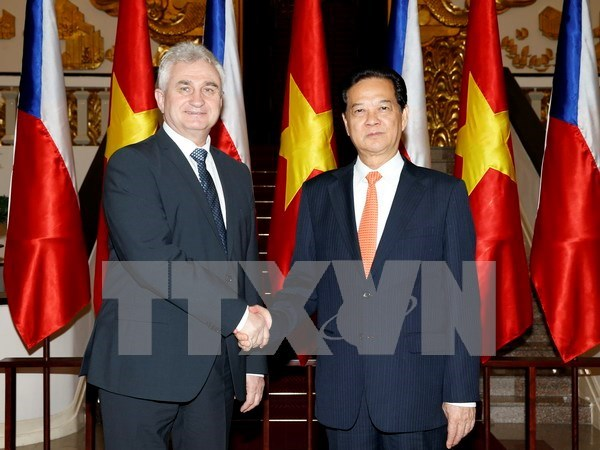 Czech Senate President wraps up Vietnam visit hinh anh 1
