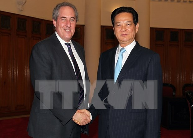 PM asks US to recognise Vietnam's market economy hinh anh 1
