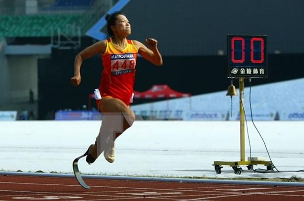 Disabled athletes head for ASEAN Para Games hinh anh 1