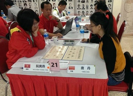 Yen wins silver at Chinese Chess Championships hinh anh 1