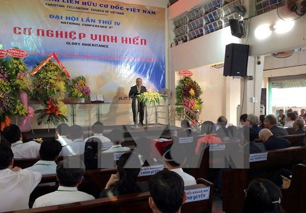 Christian Fellowship Church of Vietnam opens 4th congress hinh anh 1
