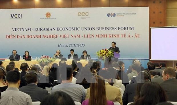 Vietnam, EEU target further trade ties hinh anh 1