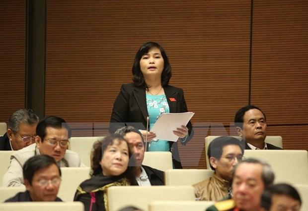 Deputies urge healthy, effective development of press hinh anh 1