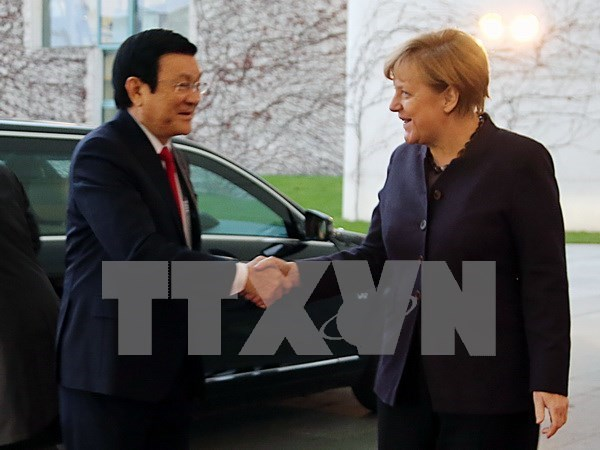 Vietnam treasures strategic partnership with Germany hinh anh 1
