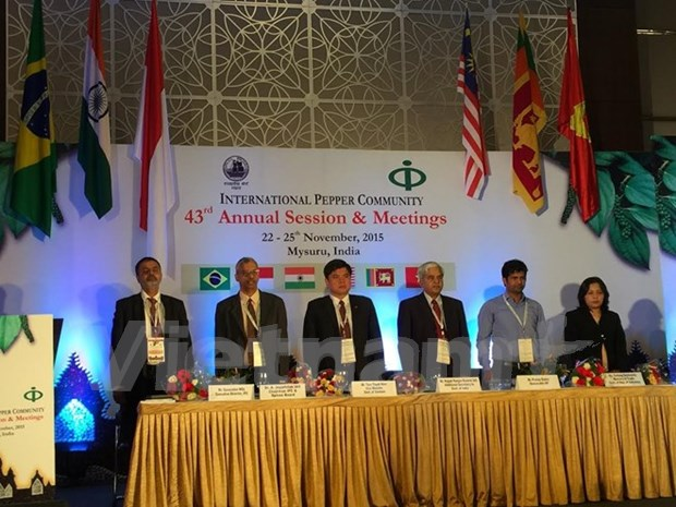 Vietnam attends International Pepper Community's annual meeting hinh anh 1