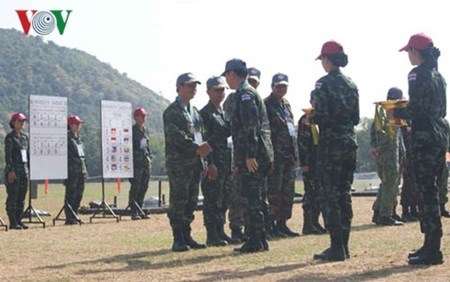 Vietnam in top three at shooting event hinh anh 1